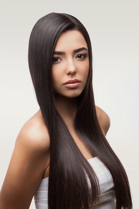 cabello tratdo con botox