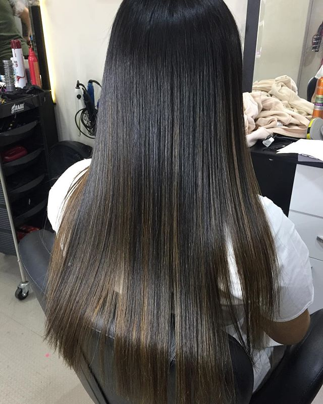 cabello luminosos y sedoso
