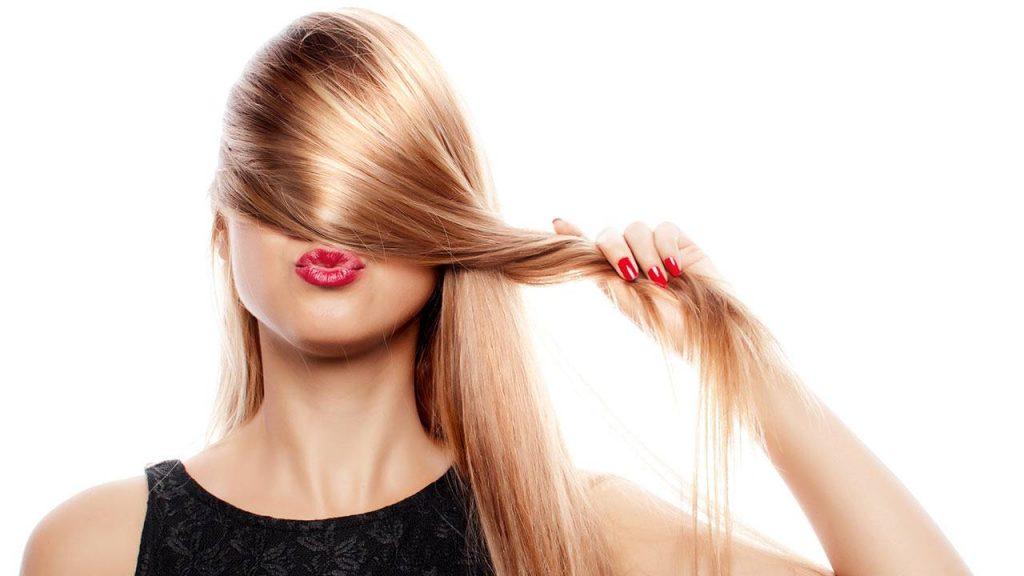 cabello luminoso
