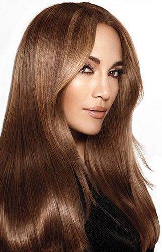 cabello con tratamiento de botox