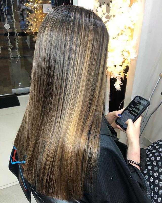 cabello con botox capilar