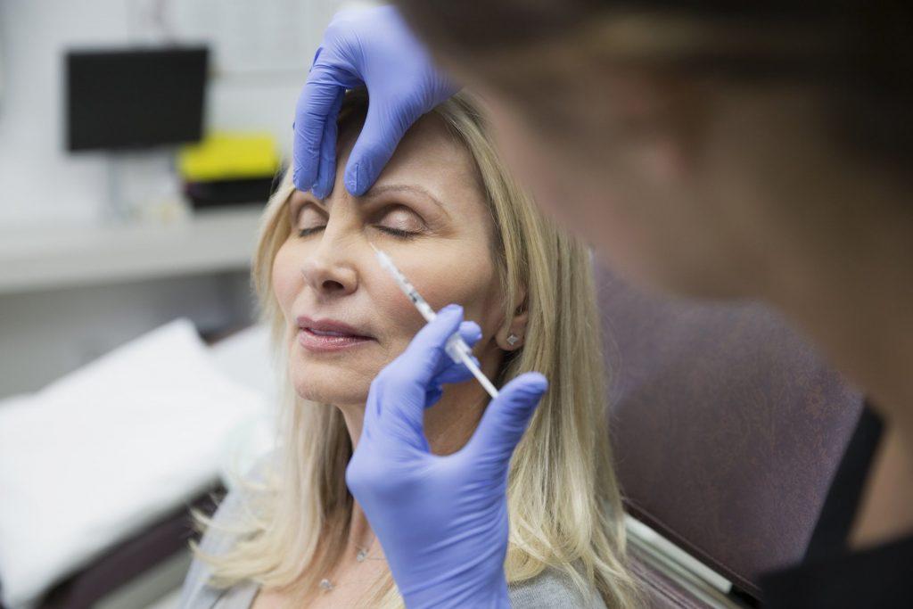 inyeccion de botox en clinica