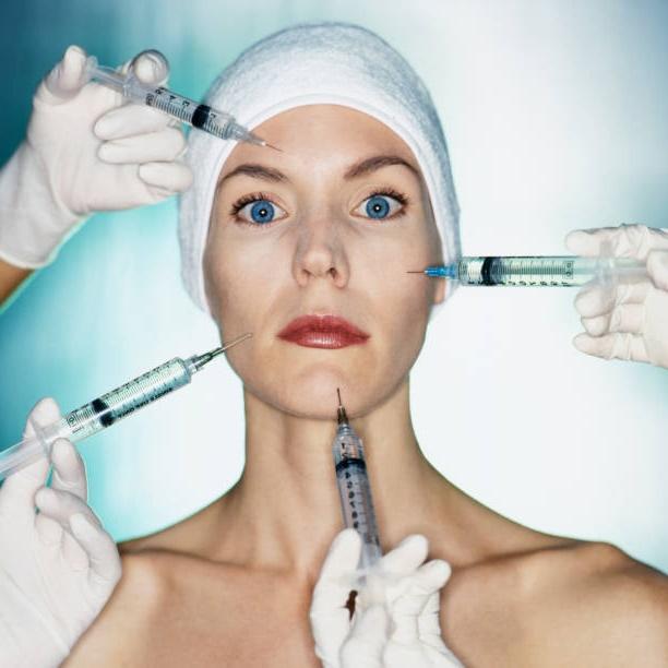 varias inyecciones de botox