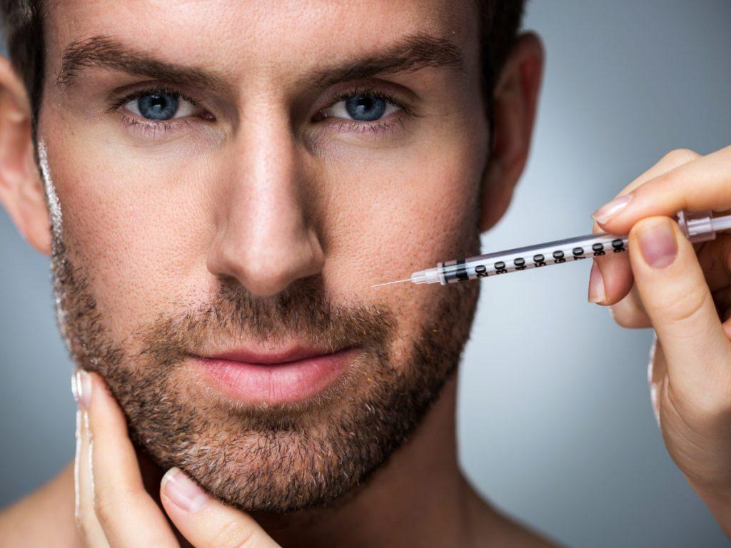 botox en labios para hombres