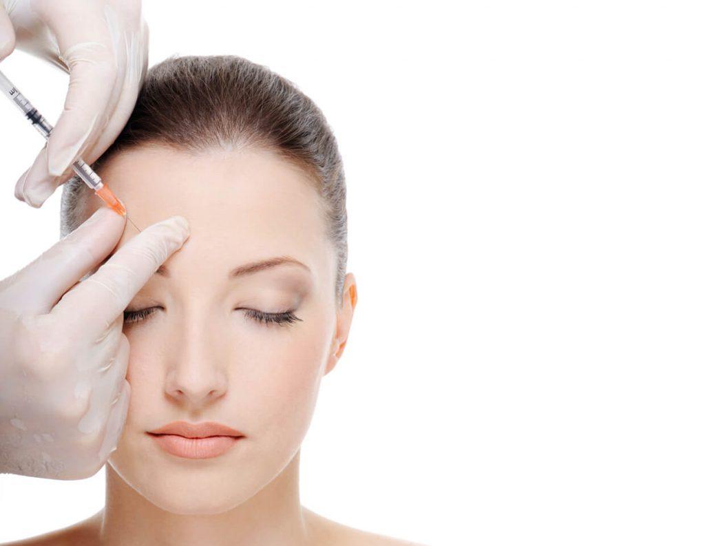 procedimiento con botox