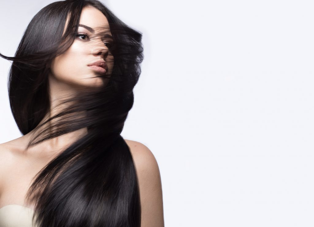 cabello cuidado y sedoso
