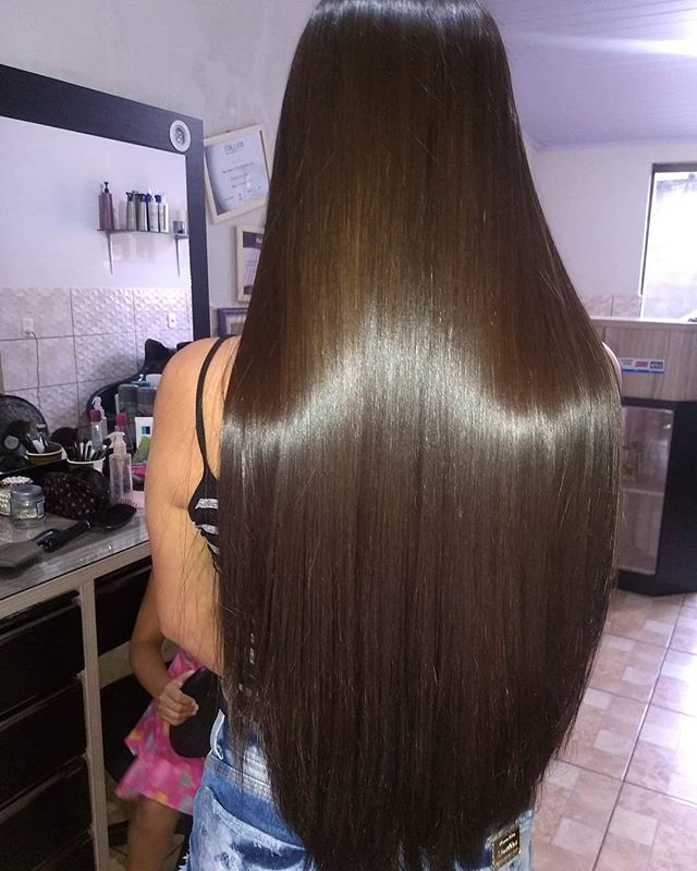 cabello luminoso con valquer